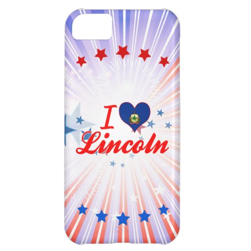 I Love Lincoln, Vermont iPhone 5C Cover