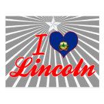 I Love Lincoln, Vermont Postcard