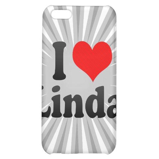 I love Linda Case For iPhone 5C