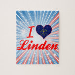 I Love Linden, Indiana Jigsaw Puzzle