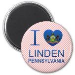 I Love Linden, PA Magnet