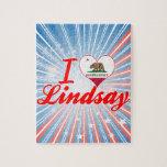 I Love Lindsay, California Puzzle