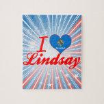 I Love Lindsay, Oklahoma Puzzle