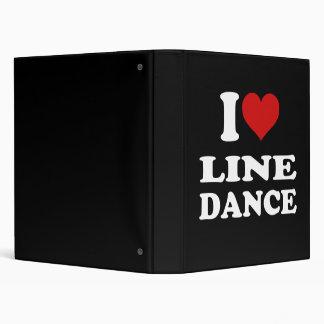 I Love Line Dance Binder