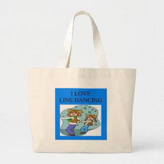 i love line dancing bags