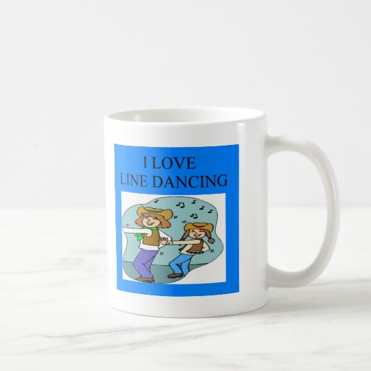 i love line dancing coffee mug