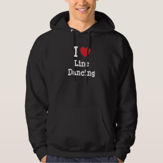 I love Line Dancing heart custom personalized Hoodie