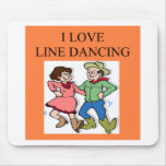 i love line dancing mouse pad