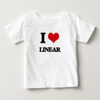 I Love Linear T-shirts