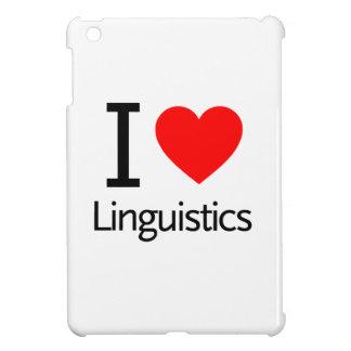 I Love Linguistics iPad Mini Cover