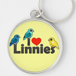 I Love Linnies Keychains