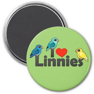 I Love Linnies Magnet