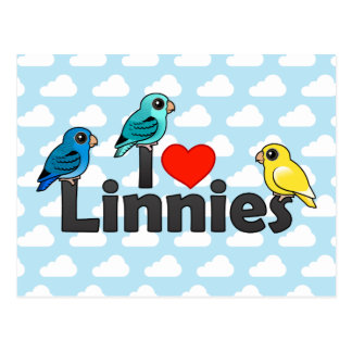 I Love Linnies Post Cards
