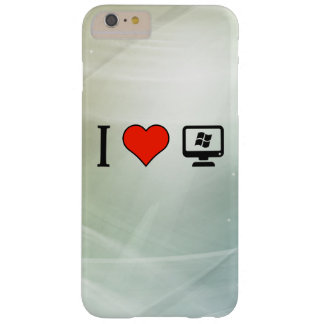 I Love Linux Barely There iPhone 6 Plus Case