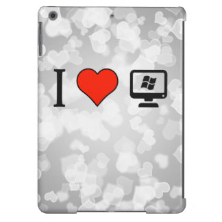 I Love Linux Cover For iPad Air
