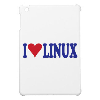 I Love Linux iPad Mini Cases
