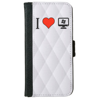 I Love Linux iPhone 6 Wallet Case