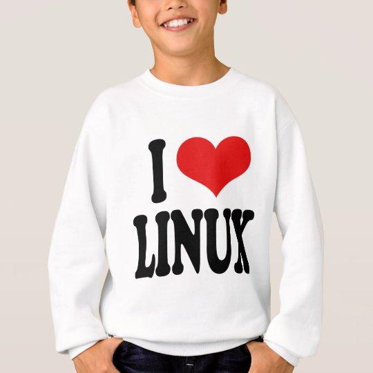 I Love Linux Sweatshirt