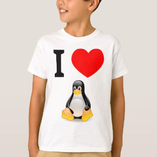 I love Linux T-Shirt