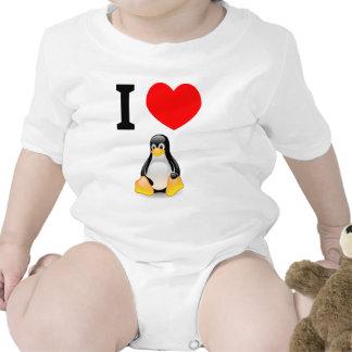 I love Linux Tee Shirt
