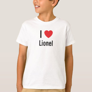 I love Lionel T-Shirt