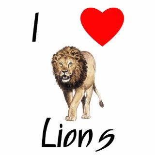 I Love Lions (2) Cutout