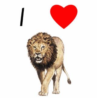 I Love Lions (3) Statuette
