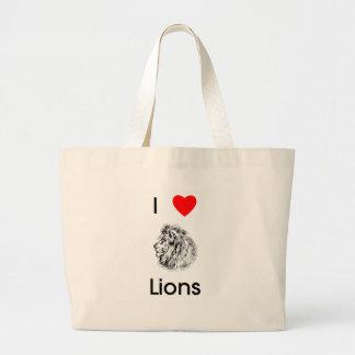 I love lions Bag