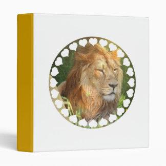 I Love Lions Binder