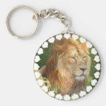 I Love Lions Keychain