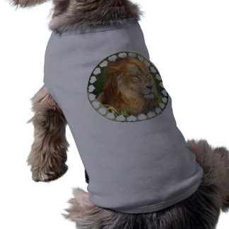 I Love Lions Pet Shirt