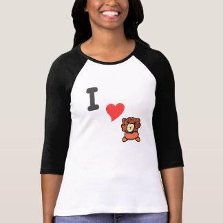 I love lions t shirt