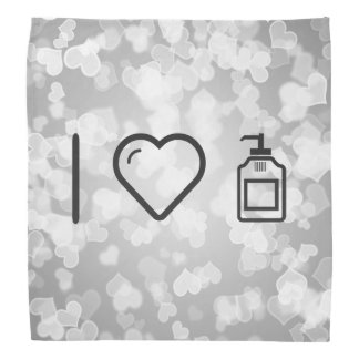 I Love Liquid Handwash Bandana
