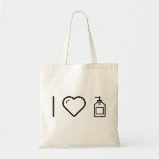 I Love Liquid Handwash Budget Tote Bag