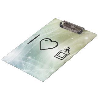 I Love Liquid Handwash Clipboards