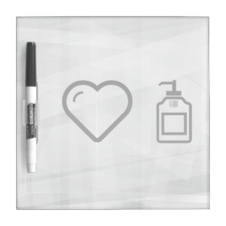 I Love Liquid Handwash Dry-Erase Whiteboard