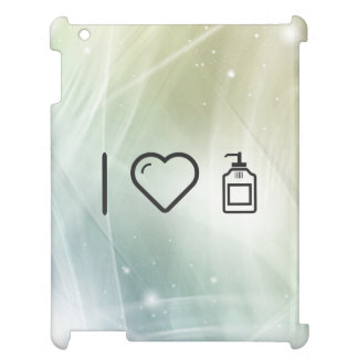 I Love Liquid Handwash iPad Case