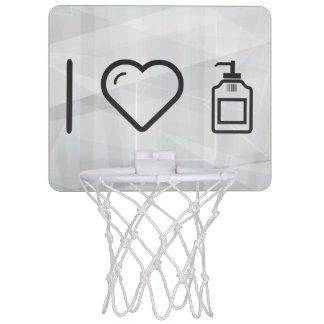 I Love Liquid Handwash Mini Basketball Backboard