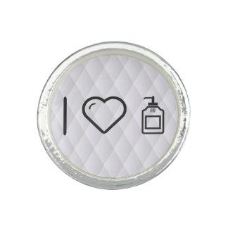 I Love Liquid Handwash Photo Ring