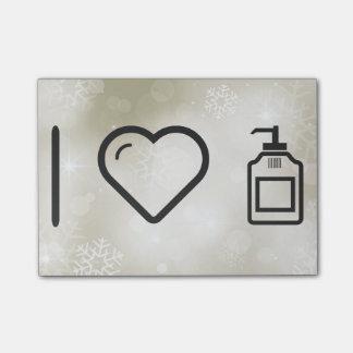 I Love Liquid Handwash Post-it® Notes