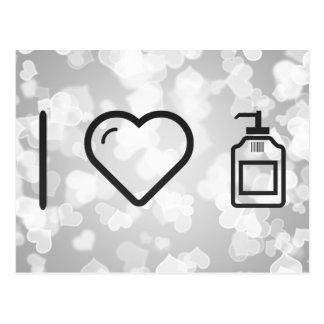 I Love Liquid Handwash Postcard