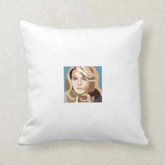 I Love Lisa Throw Pillow