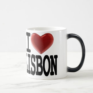 I Love LISBON Magic Mug