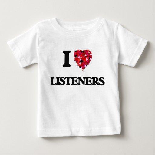 I Love Listeners T-shirts T-Shirt, Hoodie, Sweatshirt