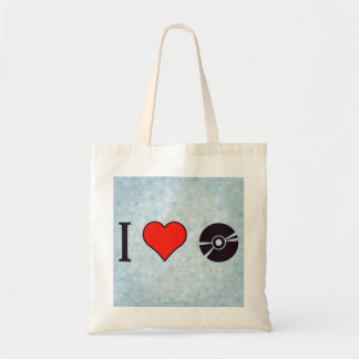 I Love Listening To Lps Tote Bag