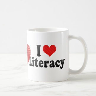 I Love Literacy Coffee Mug