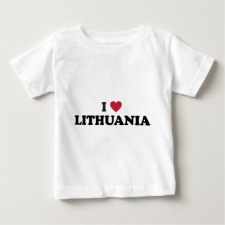 I Love Lithuania Baby T-Shirt