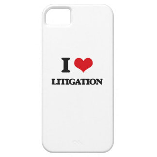 I Love Litigation iPhone 5 Covers