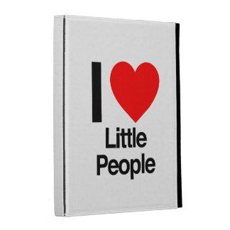 i love little people iPad folio cases