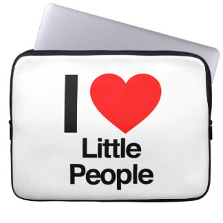 i love little people laptop computer sleeves